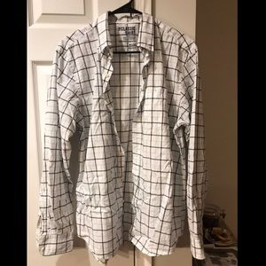 Old Navy plaid collared shirt